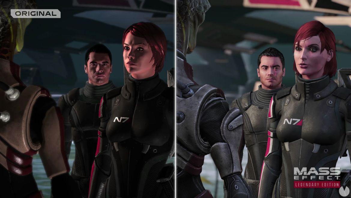 Mass Effect: Legendary Edition muestra en un nuevo vídeo sus múltiples mejoras gráficas - Vandal