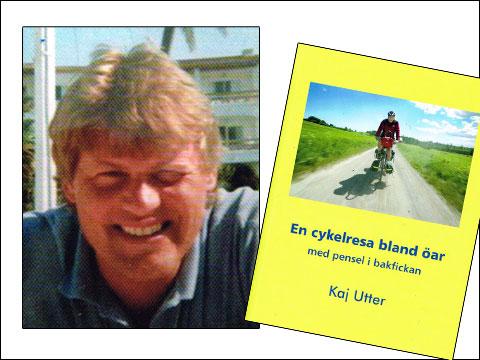 Kaj Utter, En cykelresa bland öar - med pensel i bakfickan