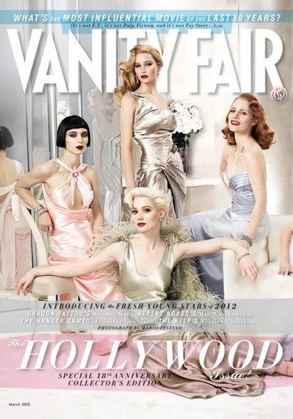 Vanity Fair March 2012 Hollywood issue cover