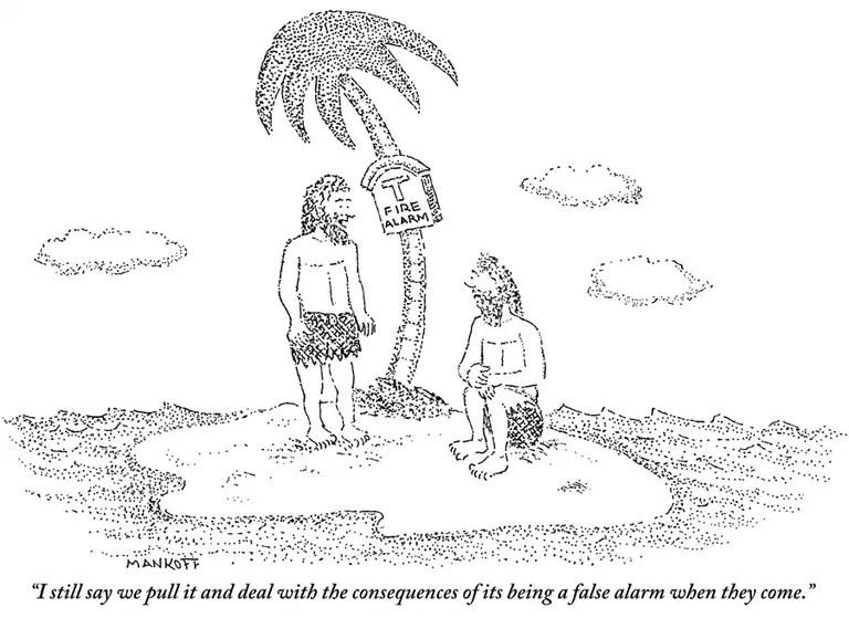 A Guy, a Palm Tree, and a Desert Island: The Cartoon Genre