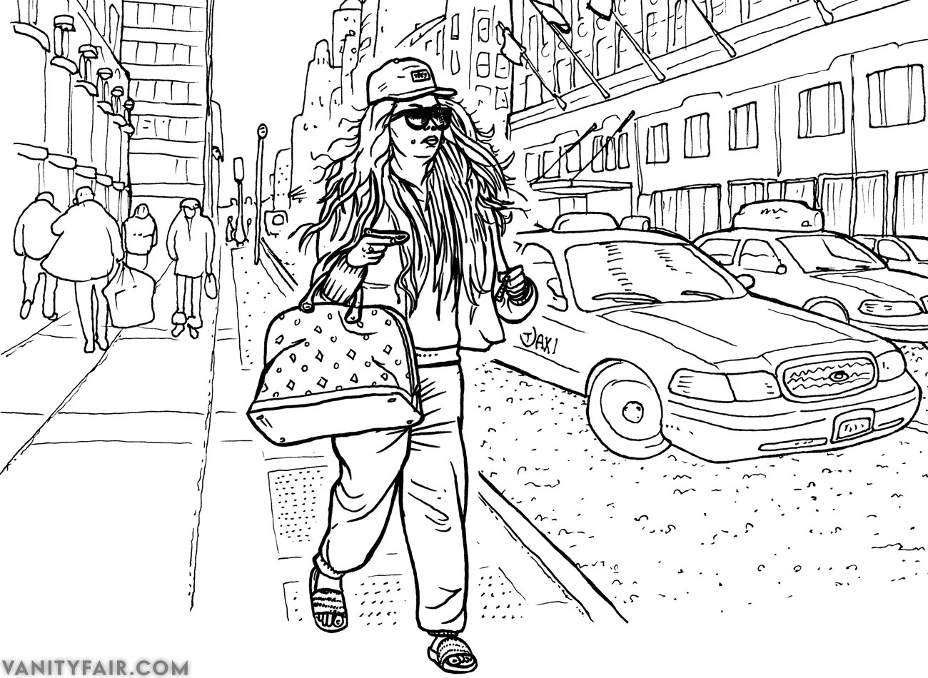 Exclusive: The Definitive Amanda Bynes Coloring Book