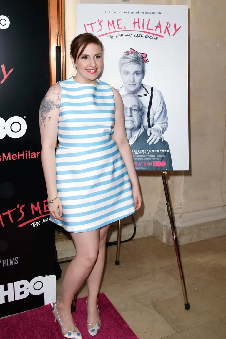 Lena Dunham Explains Why She Has an Eloise Tattoo  Vanity