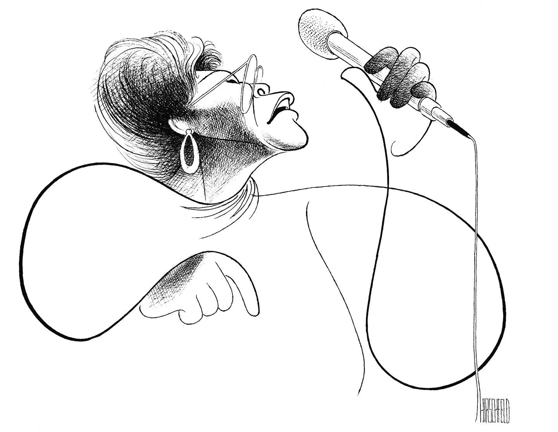 See Legendary Cartoonist Al Hirschfeld's Portraits of