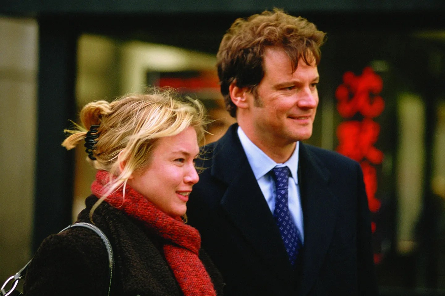 Image result for Colin Firth and Renee Zellweger in Bridget Jones' Diary