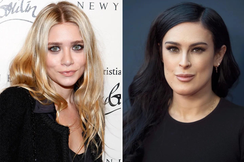 Ashley Olsen and Rumer Willis Gossip Girl Stars in an