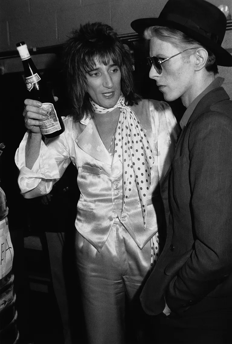 Iman And Bowie Birthday
