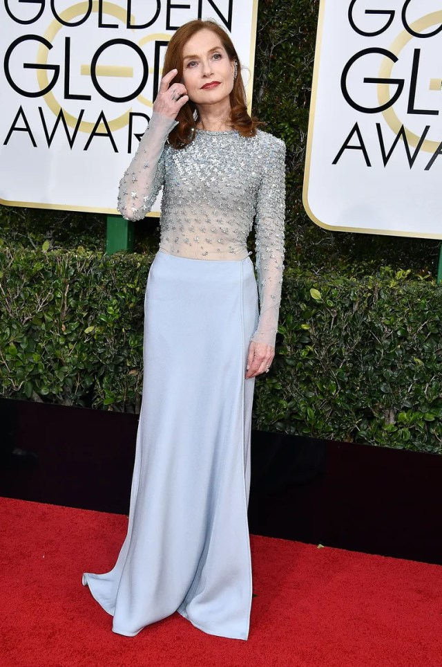 At the Golden Globes (January 8, 2017)