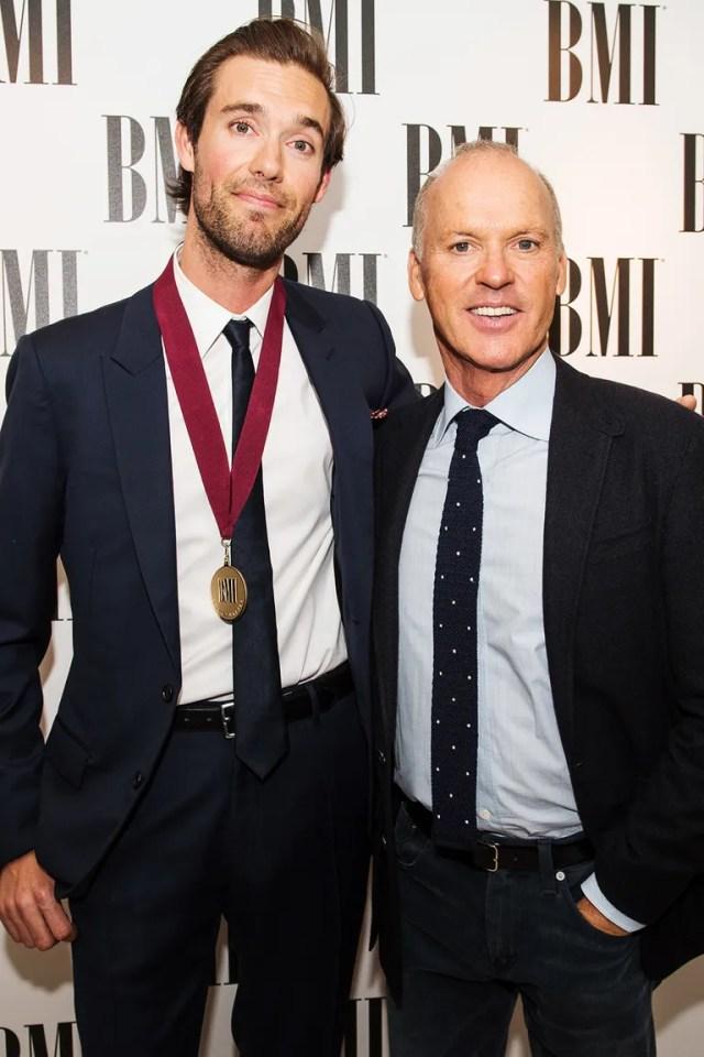 Sean Douglas and Michael Keaton
