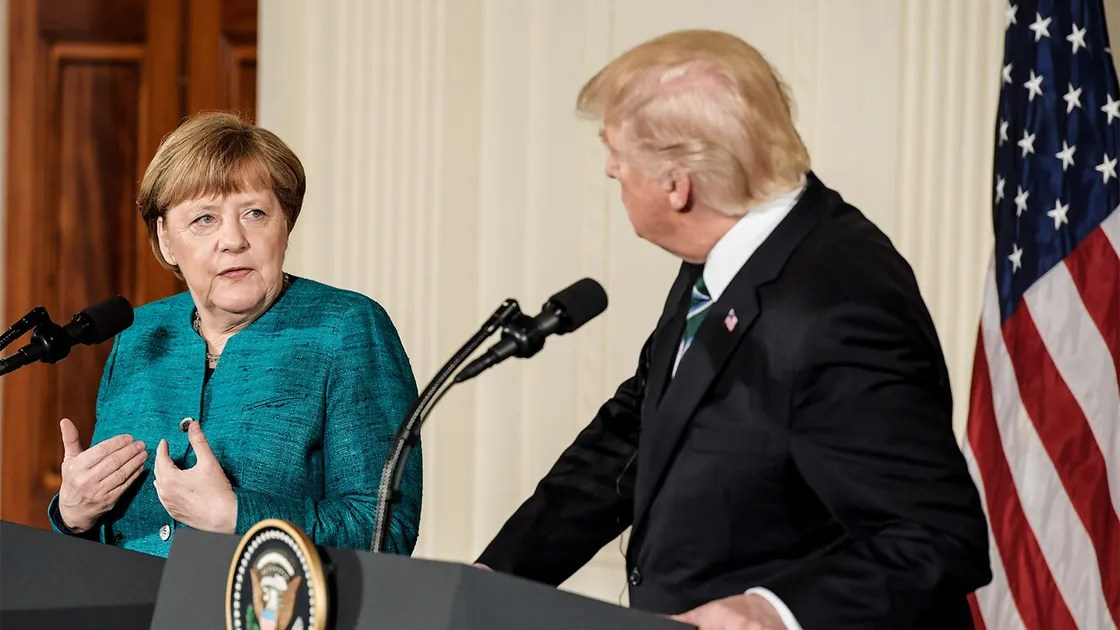 Angela Merkel Just FactShamed Donald Trump About the One