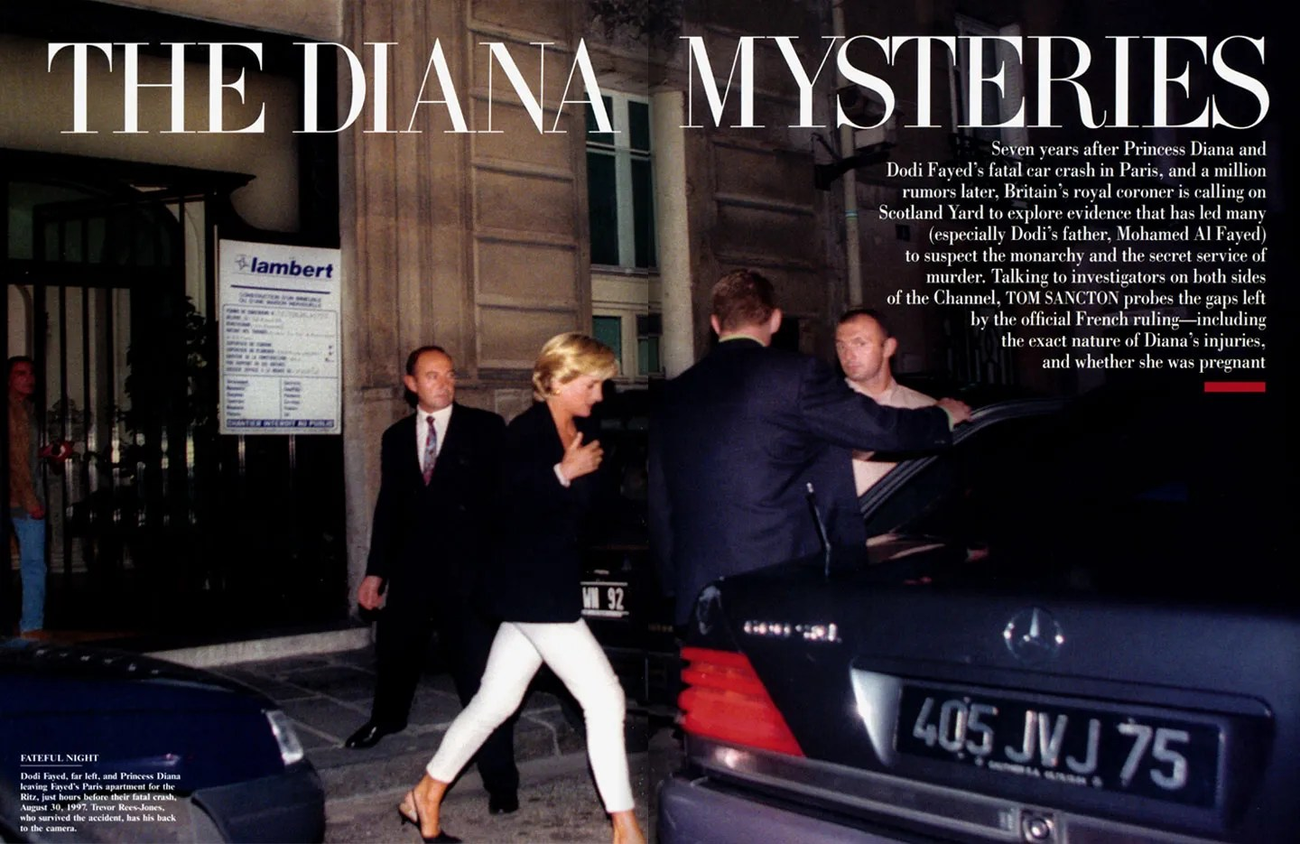 Traffic Accident Investigator Cover Letter The Diana Mysteries Vanity Fair