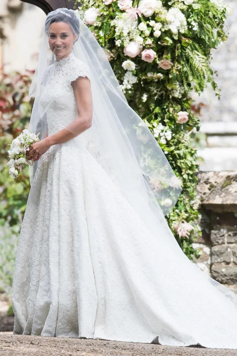 Pippa Middletons Wedding Dress Revealed