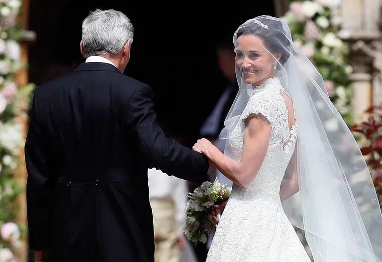 Pippa Middleton's Wedding Dress Revealed