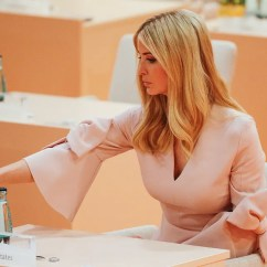 Desk Chair Reviews Nylon Glides Ivanka Trump's History Of Sitting In Inappropriate Seats Photos | Vanity Fair