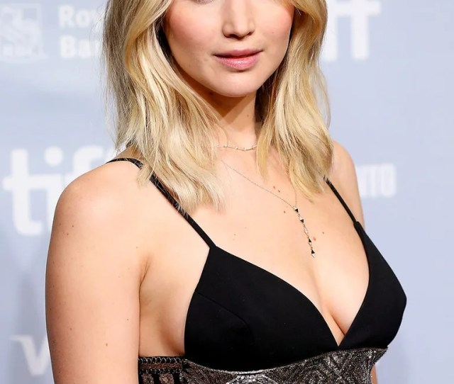 Jennifer Lawrence At A Tiff Photo Call