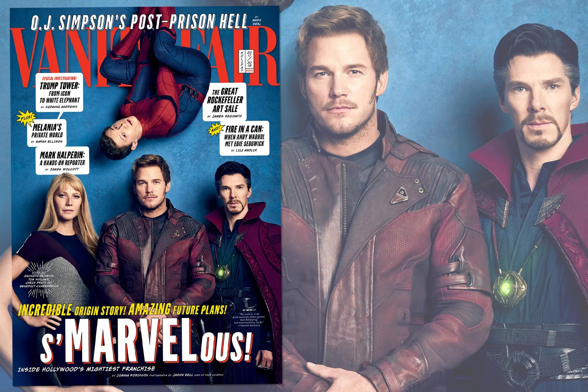 cover story inside marvel