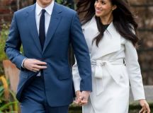 See Prince Harry and Meghan Markle Pose for Their First ...