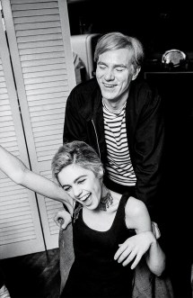 Andy Warhol And Edie Sedgwick White-hot