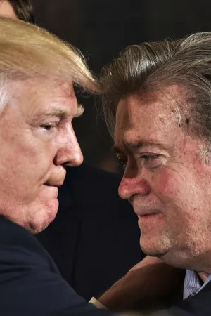 Trump and Bannon