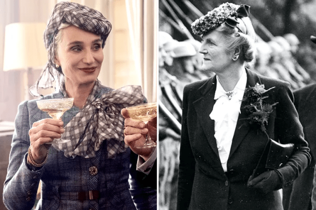 Kristin Scott Thomas/Clementine Churchill—<em>Darkest Hour</em>