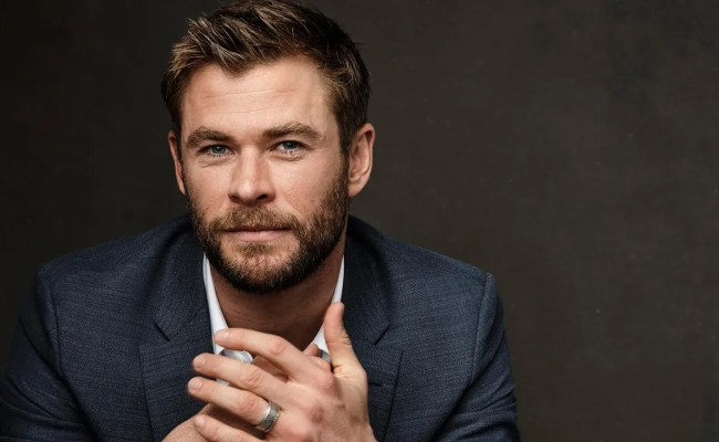 Does Chris Hemsworth Man Among Lesser Men Moisturize His