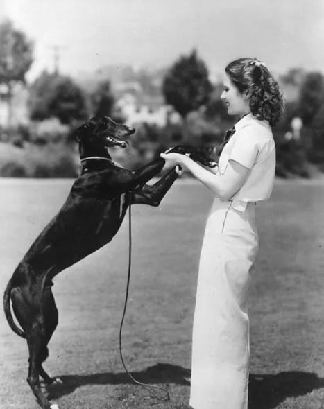 Helen Burgess and Probbie
