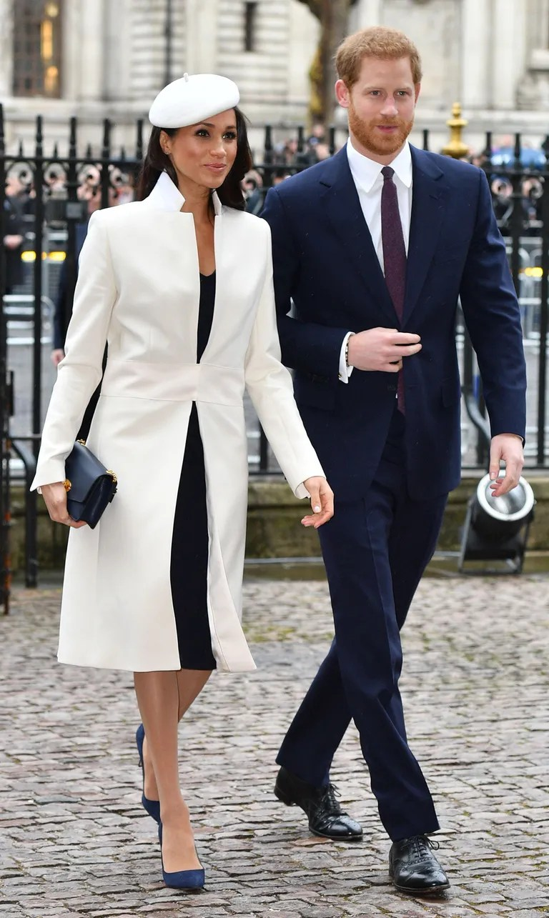 Meghan Markle Wears White For Her First Official