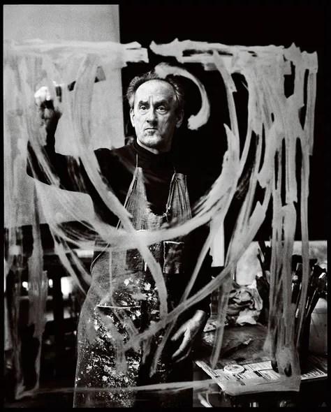 Artist Frederick Terna, New York City, 1994.