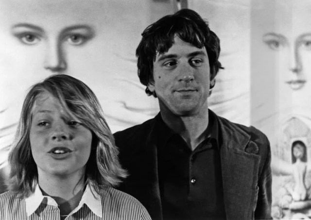 Jodie Foster and Robert de Niro at Cannes, 1976