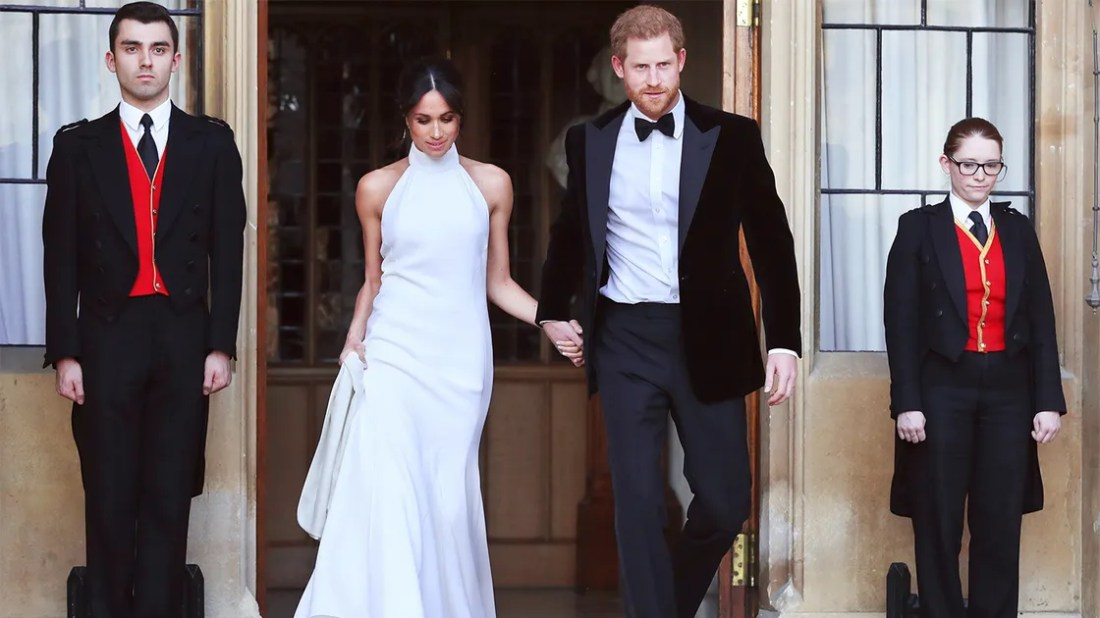 Forty-Six Lucky Individuals Will Get to Wear Meghan Markle's Wedding Reception Dress