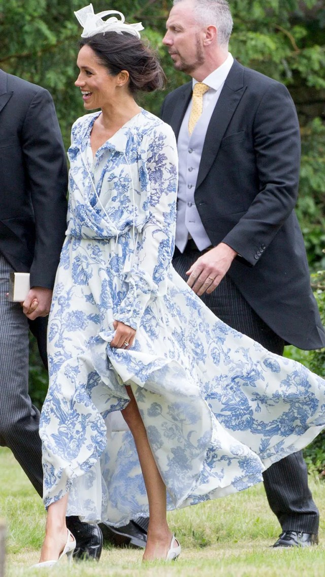 At the wedding of Celia McCorquodale and George Woodhouse, June 16