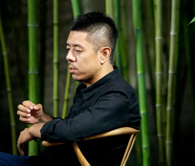 The museums architect, Ma Yansong.