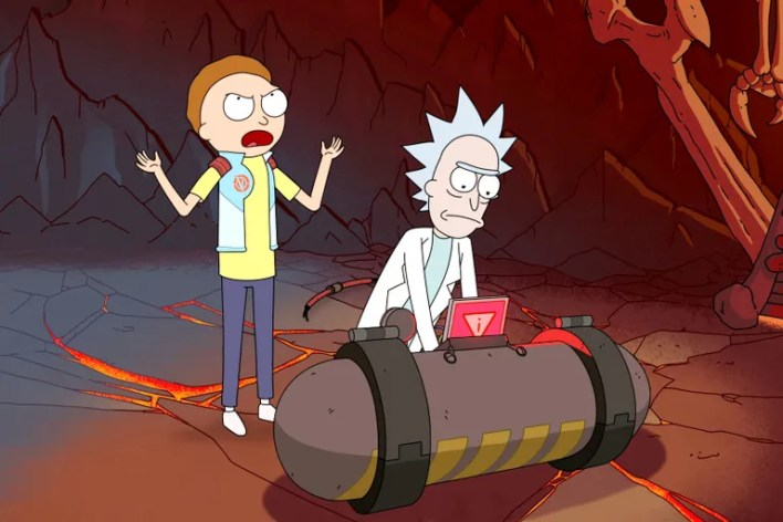 "<ol start=""6""> <li><em>Rick and Morty</em> (2013-present)</li> </ol>"