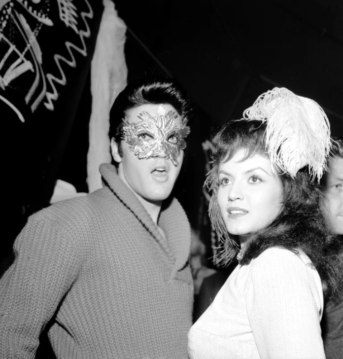 Elvis Presley and Joan Bradshaw