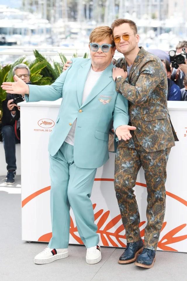 Day 3: Elton John and Taron Egerton
