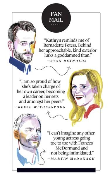 Fan Mail from Kathryn Newton's Co-Stars.