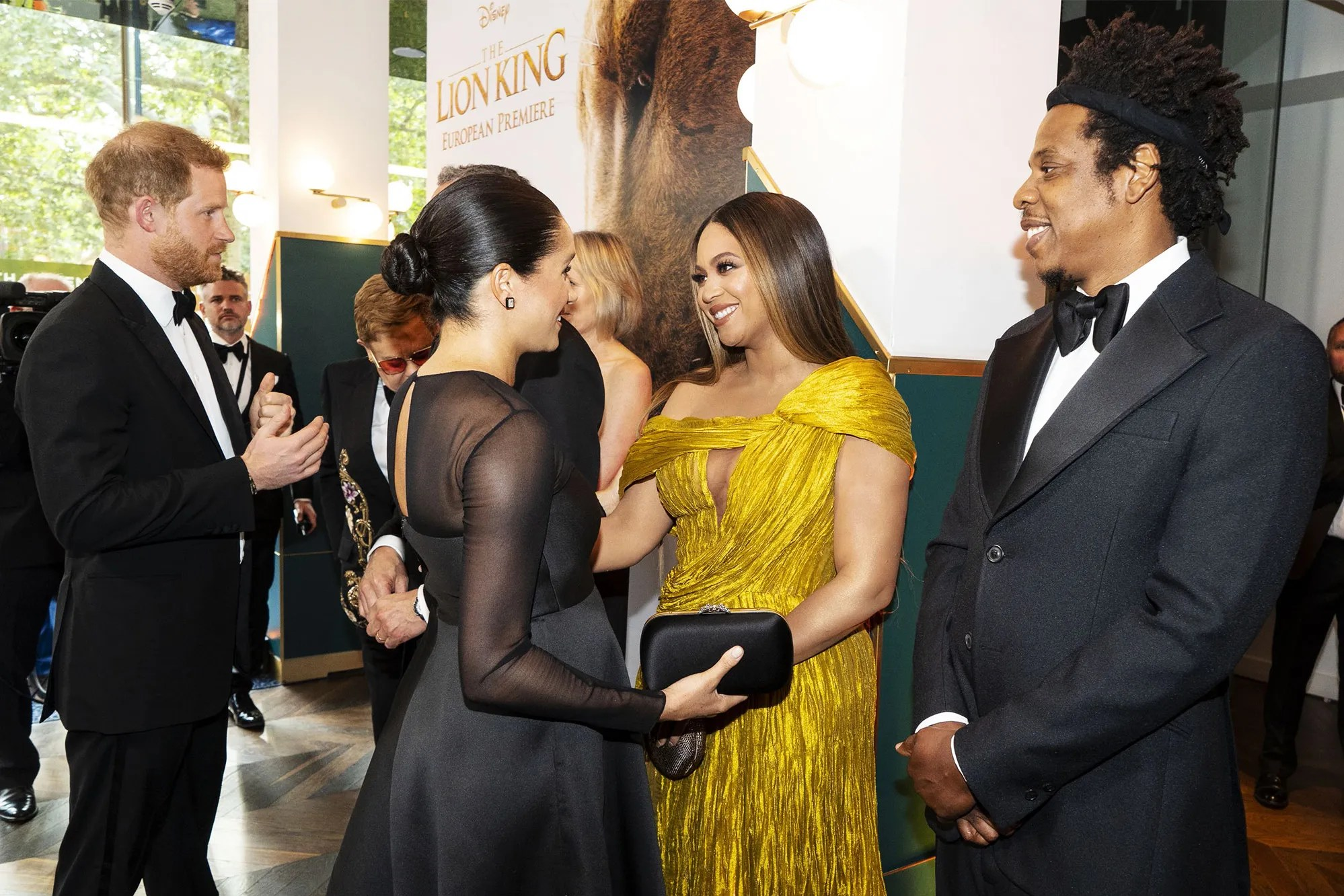 meghan markle and beyonce have now met