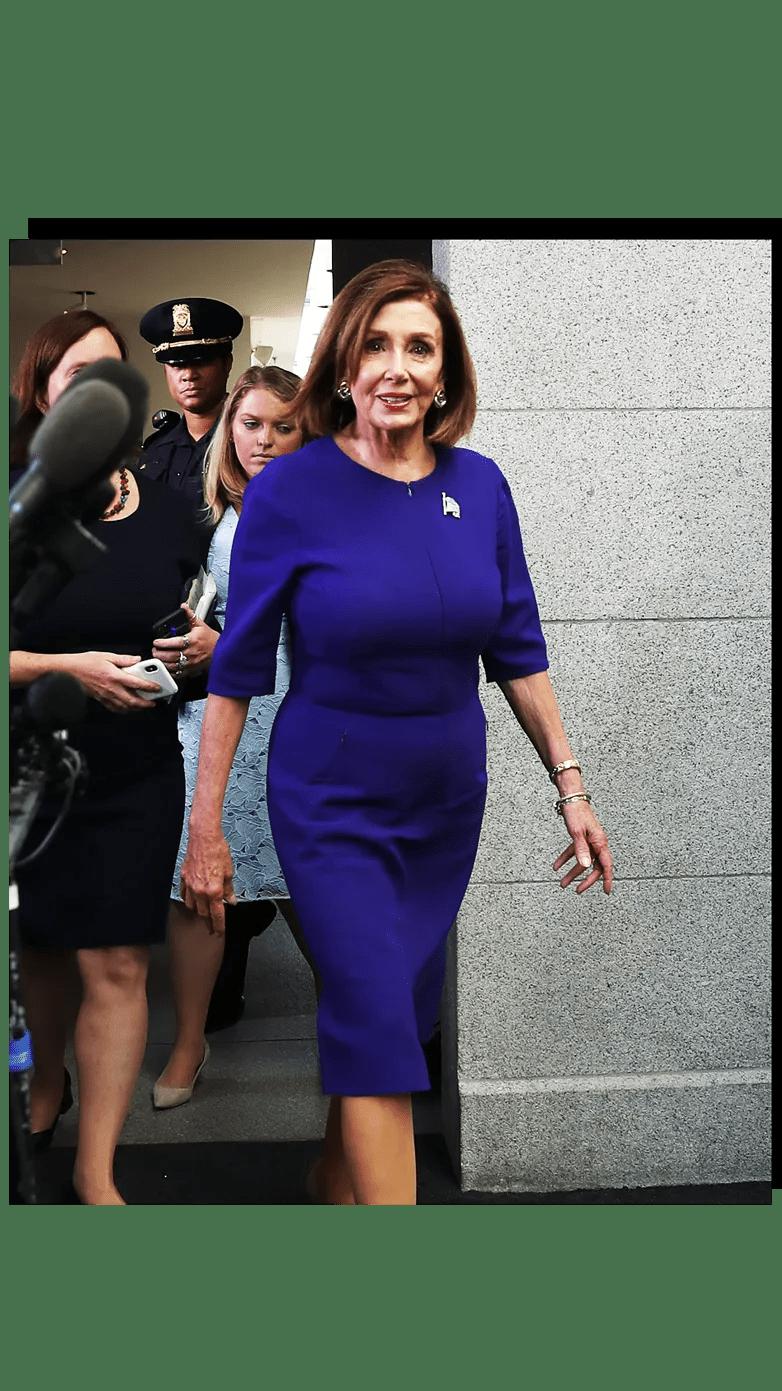 Nancy Pelosi Rack : nancy, pelosi, Close, Nancy, Pelosi's, Impeachment, Wardrobe, Vanity