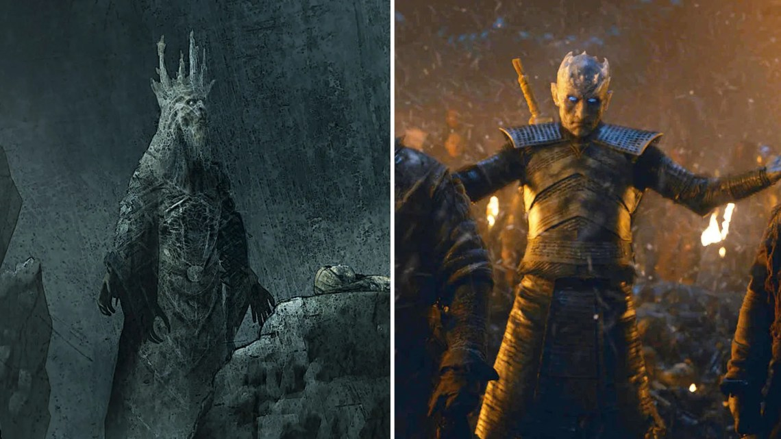 Game of Thrones Why the Original Night King Design Was Completely Different