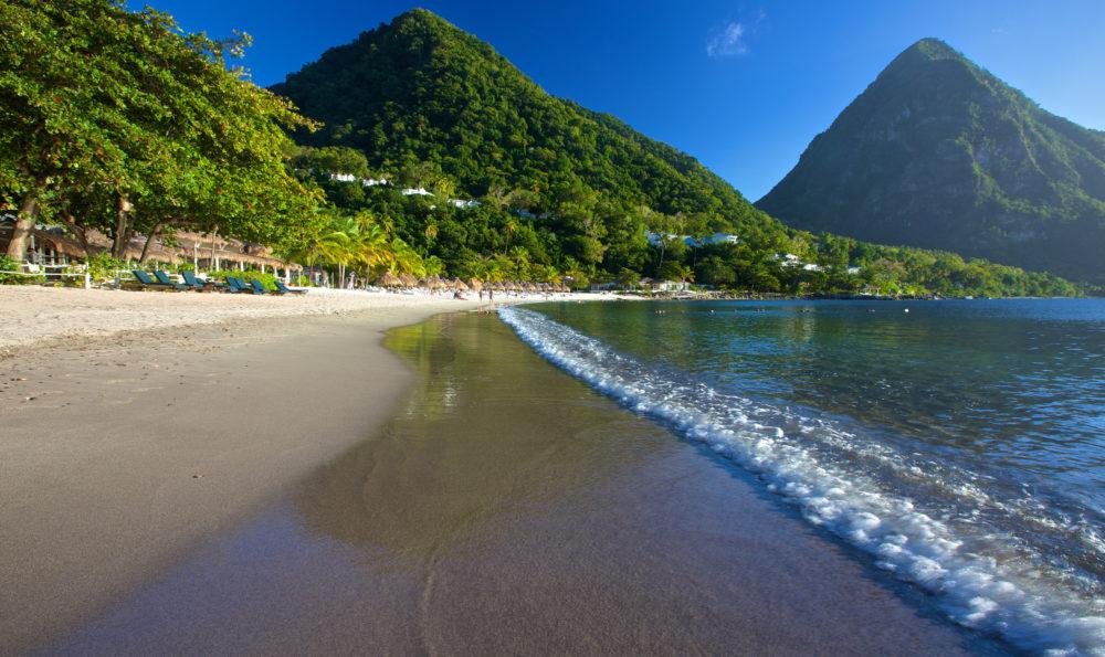 Karibiska öar, resa till Karibien, resor till Karibien, Saint Lucia