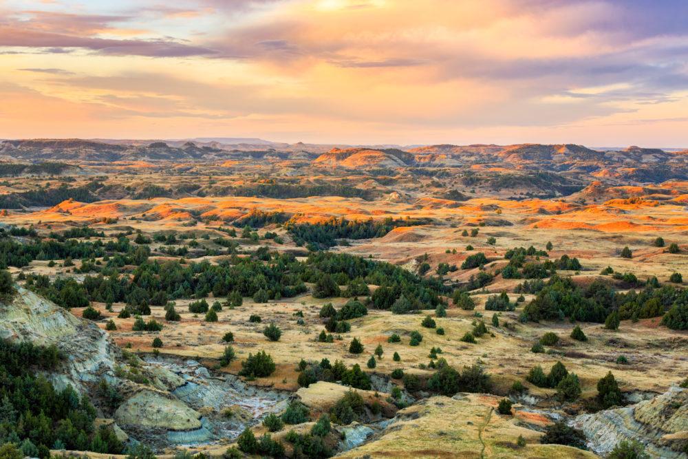 nationalparker i USA, nationalparker i North Dakota