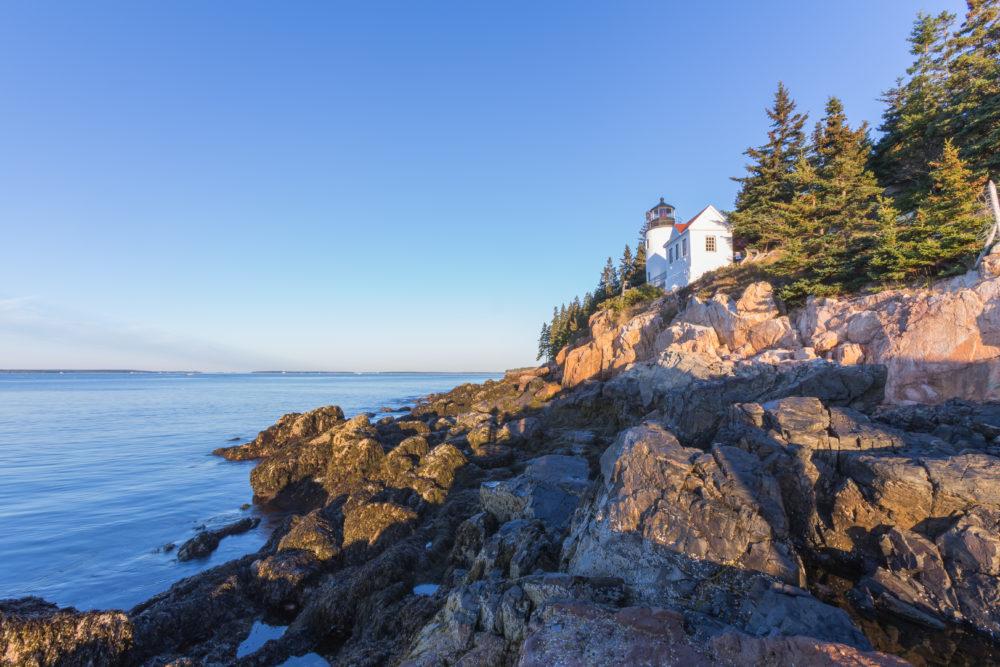 nationalparker i USA, nationalparker i Maine, Bass Harbor Head Light
