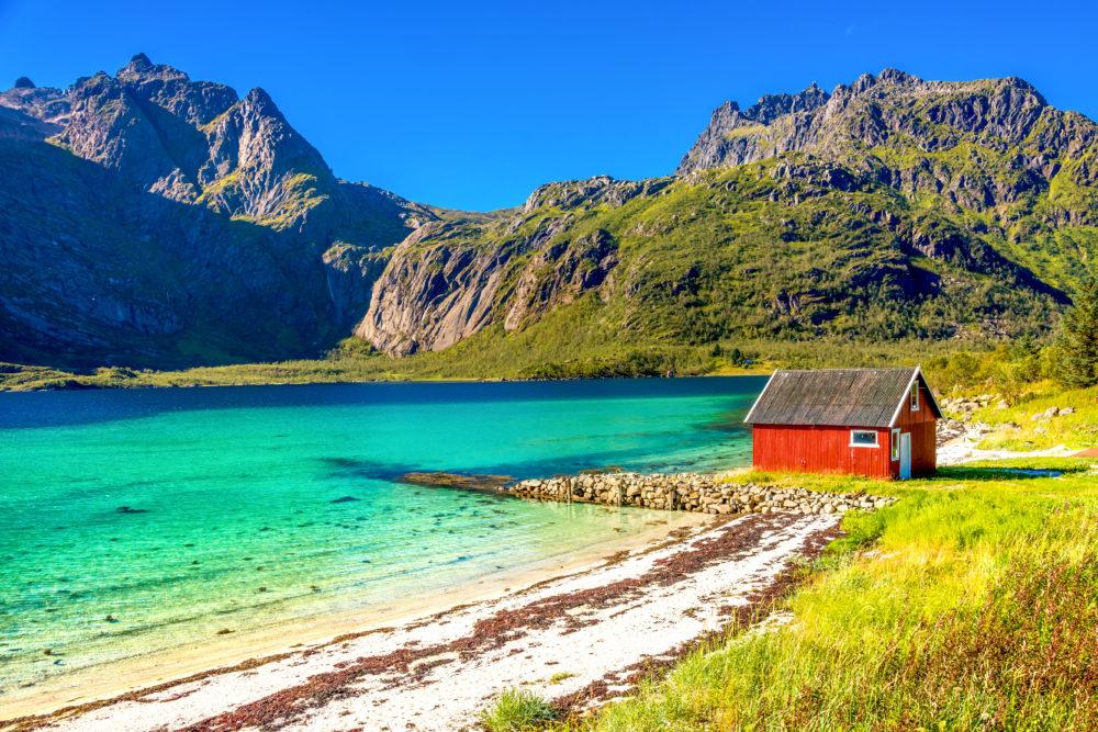 vackra öar, öar i Norden, öar i Skandinavien, öar i Norge, ögruppen Lofoten