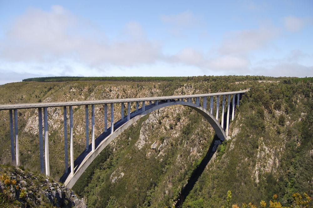 resor, resa, Sydafrika, nationalpark, Garden Route, Tsitsikamma, Bloukrans Bridge, Afrikas högsta bro, bro i Sydafrika, hoppa bungyjump, bungy jump