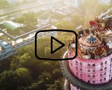 tempel i Thailand, buddhisttempel i Thailand, kända byggnader i Thailand, resa till Thailand, resor till Thailand, sevärdheter i Thailand, rosa tempel i Thailand