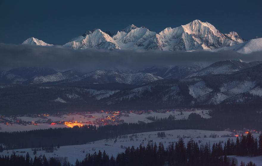 berg i Polen, Sudeterna, Karpaterna, resa till Polen, resor till Polen