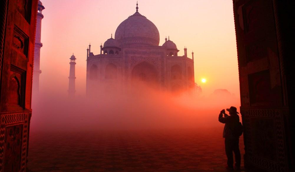 Taj Mahal i Indien, resa till Indien, sevärdheter i Indien, indiska palats, indisk grav