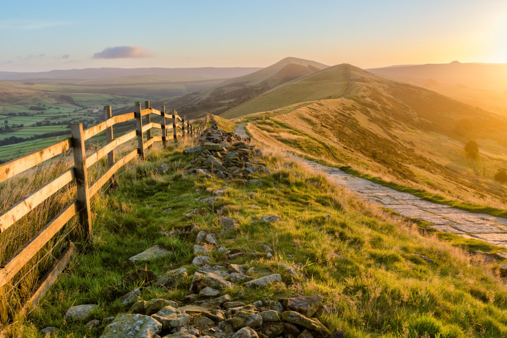 Peak District National Park, vandra i Peak District, resa till England, England resa