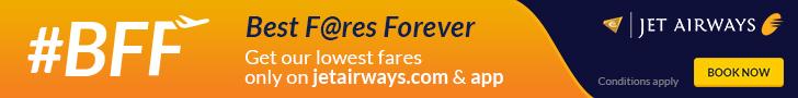 Deals / Coupons Jet Airways 1