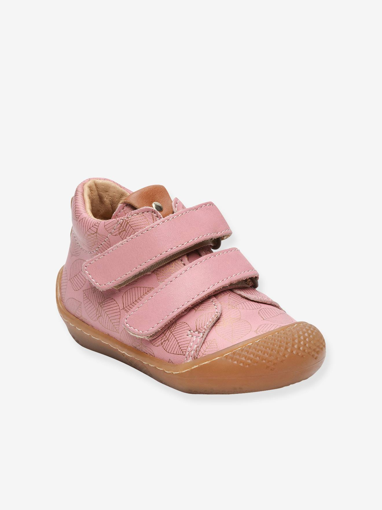 Baby Shoes With Ankle Support : shoes, ankle, support, Touch-Fastening, Leather, Ankle, Boots, Girls,, Arloa, Babybotte®, Light, Solid,, Shoes
