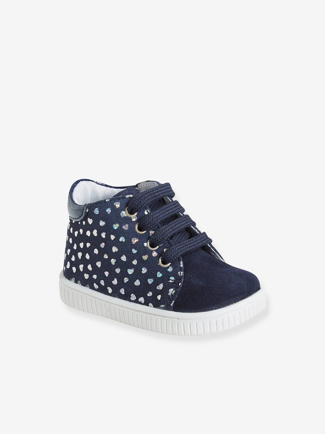 Baby Shoes With Ankle Support : shoes, ankle, support, Leather, Ankle, Boots, Girls,, Designed, First, Steps, Printed,, Shoes
